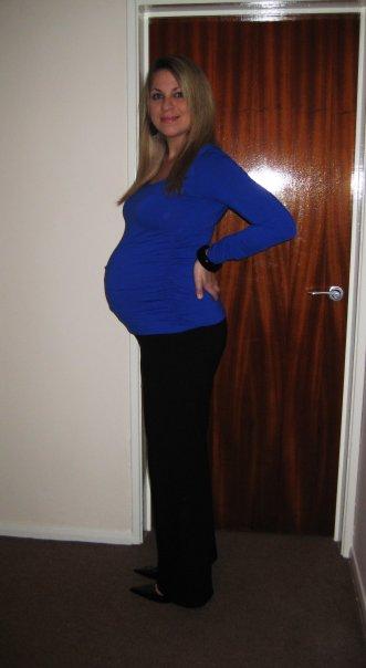 Theresa age 30, 1st child
