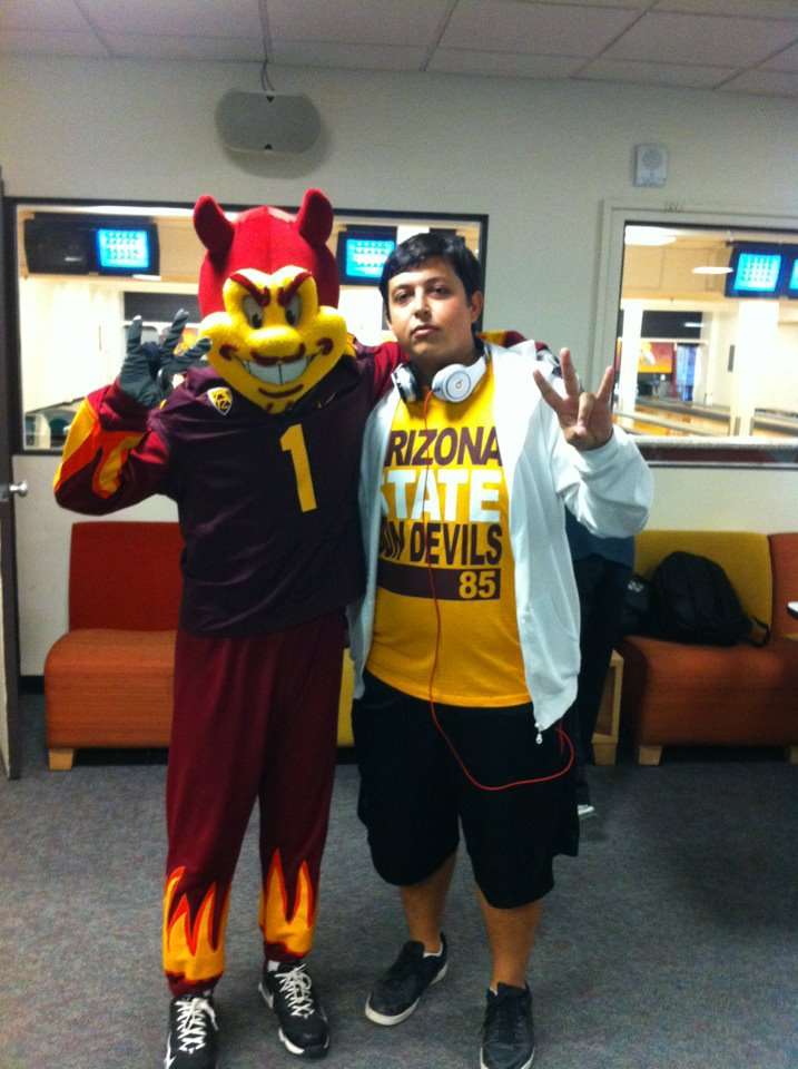 One of the first few days I arrived to Arizona State USA January 2012