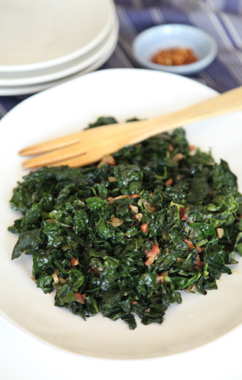 Warm Coconut and Pancetta Kale | Mark's Daily Apple
