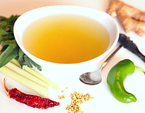 Flavored Broth