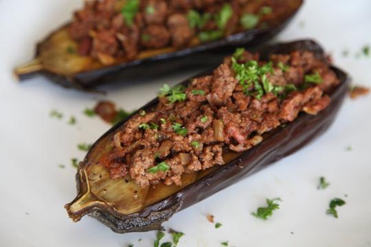 Eggplant and Lamb 1